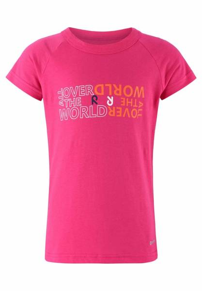 Bilde av Reima Anti-bite Kasvit t-skjorte - berry pink